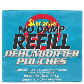 Starbrite Starbrite No Damp Refill Pouches (4 Pack)