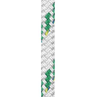 Liros Braid on Braid Polyester Green Colour Fleck Rope 18mm x 20m