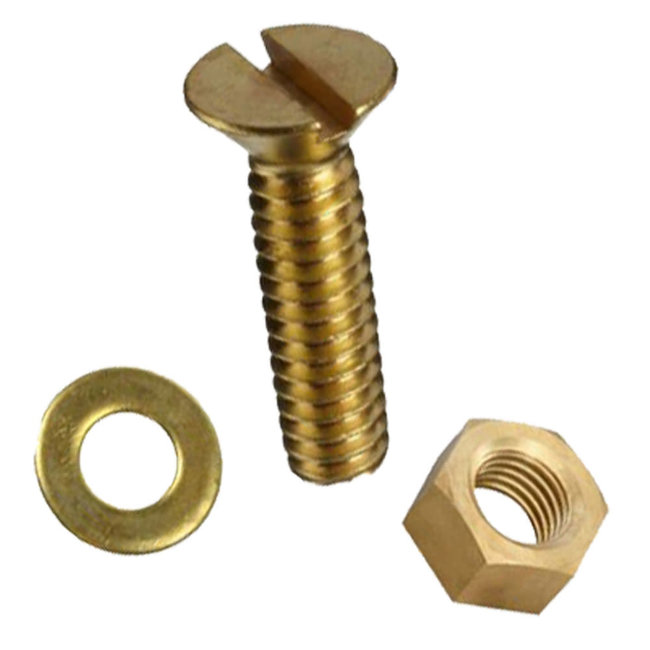 Machine Screw Stud Wood Or GRP (2 Pack)