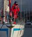 Maindeck Coastal Sailing Suit Red