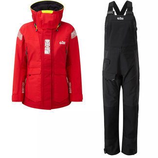 Gill Gill OS2 2021 Womens Sailing Suit Red/Black