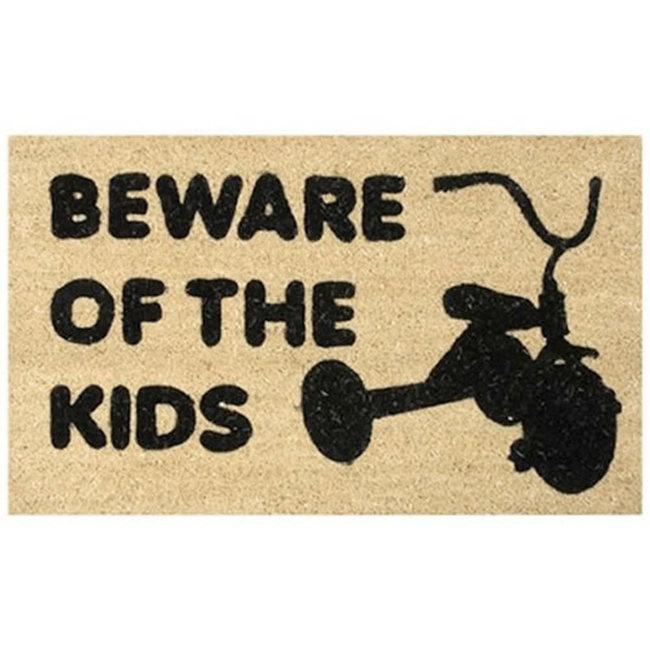 Door Mat -  Beware Of The Kids