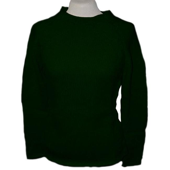 Alpaca Almarma Womens O-Neck Sweater Black - Large