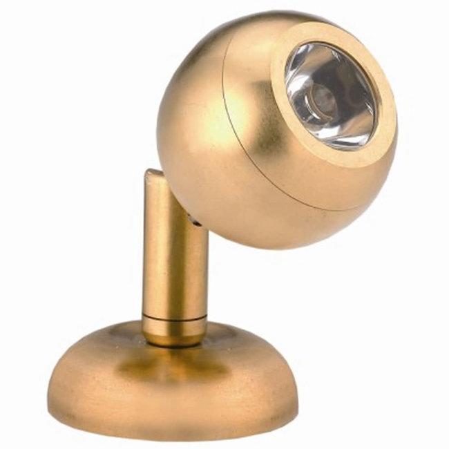 Pirates Cave Value Brass Mini LED Reading Light