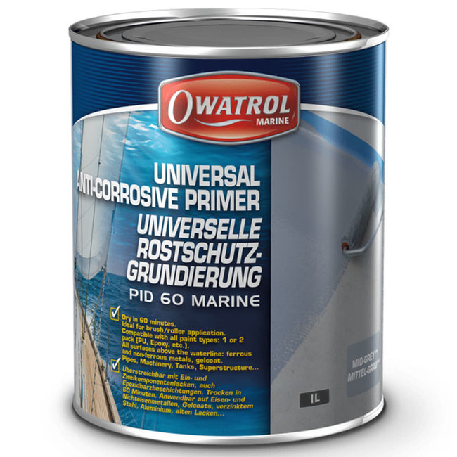 Owatrol PID60 Anti-Rust Primer