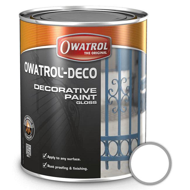 Owatrol Deco Multi Surface Paint White 2.5L