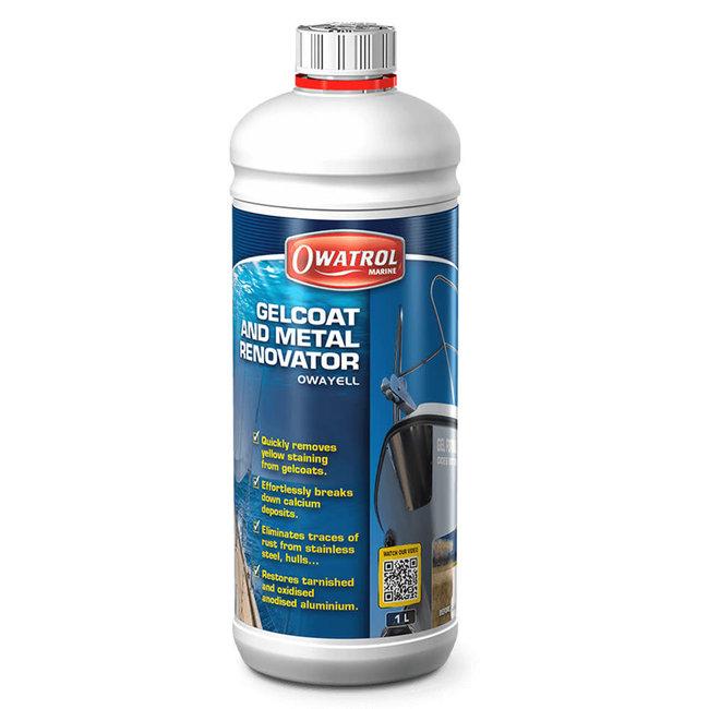 Owatrol Owayell Gelcoat & Metal Renovator 1L