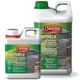 Owatrol Owatrol Prepdeck Wood Stripper & Cleaner