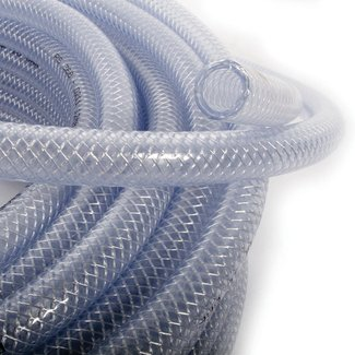 Pirates Cave Value Clear Braided Reinforced Hose (Per Metre)