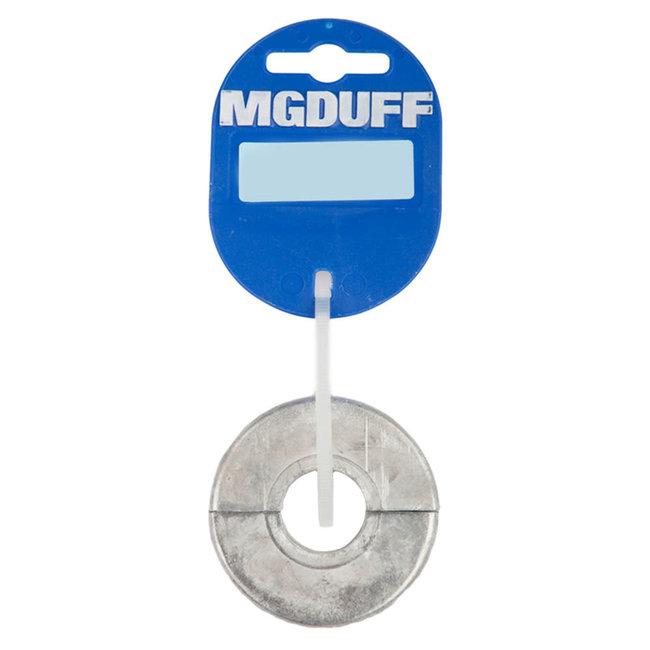 MG Duff Zinc Slim Shaft Collar Anodes (20-30mm)