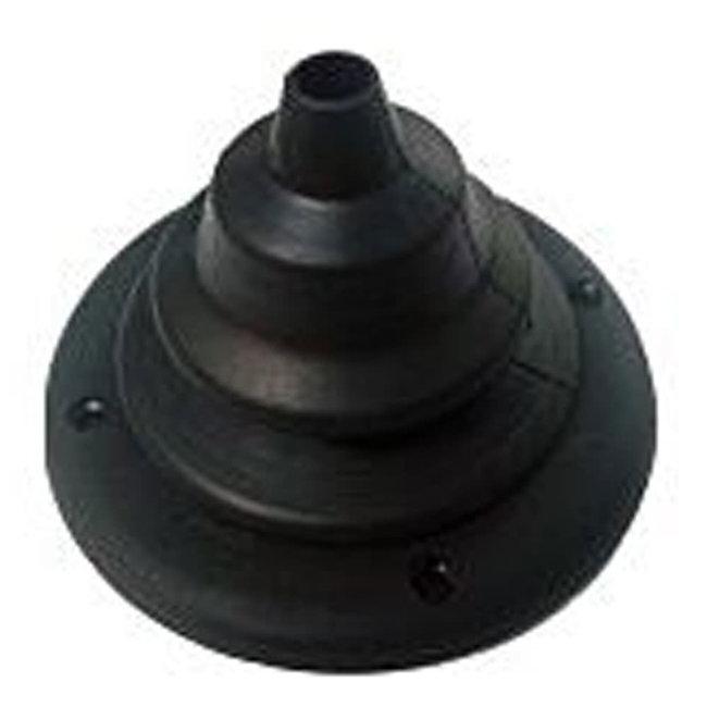 Multiflex Steering Grommet Black