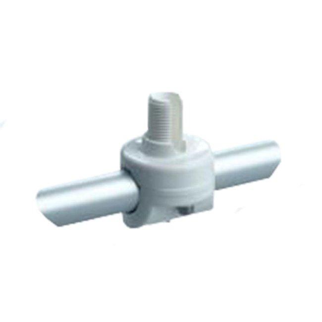 Glomex Pulpit Rail Mount Non-Adjustable for GPS Antennas (Horizontal/Vertical) RA145