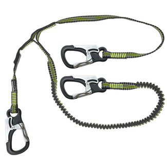 Spinlock Spinlock Lightweight 3 Clip Elasticated Performance Safety Line