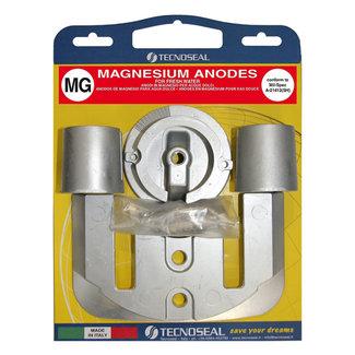 Tecnoseal Tecnoseal Magnesium Bravo One Engine Anode Kit