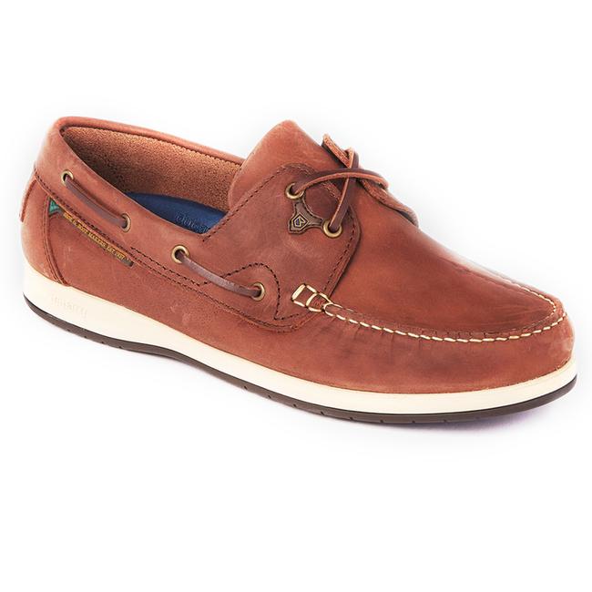 Dubarry Sailmaker X LT Extra Light Deck Shoes Chestnut 2021