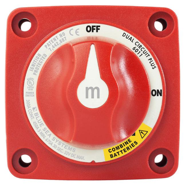 Blue Sea M-Series 3 Position Dual Circuit Plus Battery Switch