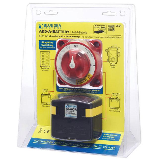 Blue Sea Dual Circuit Add A Battery Kit