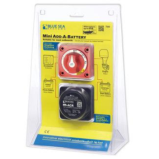 Blue Sea Systems Blue Sea Dual Circuit Mini Add A Battery Kit