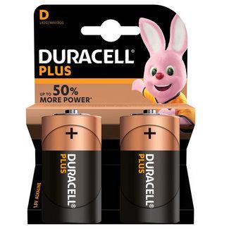 Duracell Duracell Plus D Alkaline Batteries