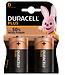 Duracell Plus D Alkaline Batteries
