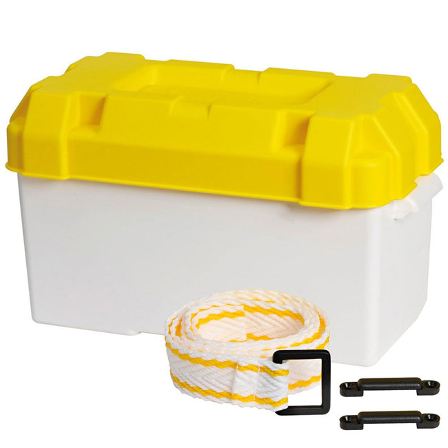Battery Box (Max 120A) with Fastening Strap & Buckle
