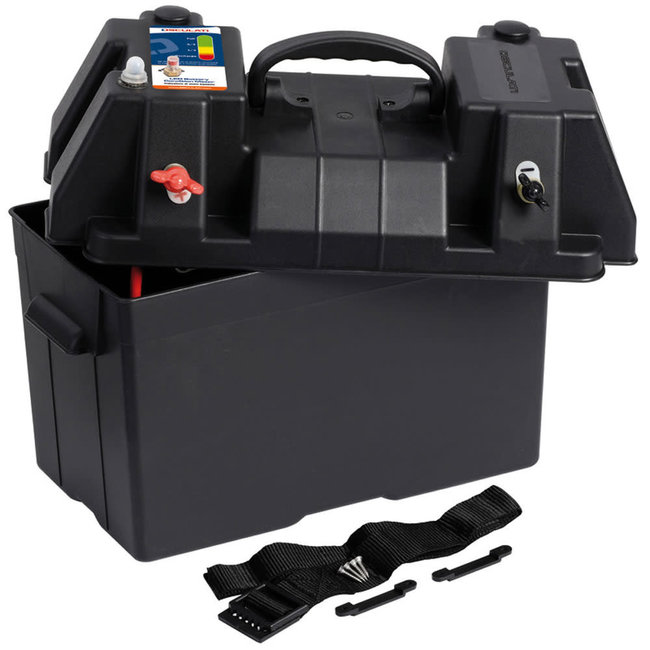 Deluxe Power Centre Battery Box (Max 105A)