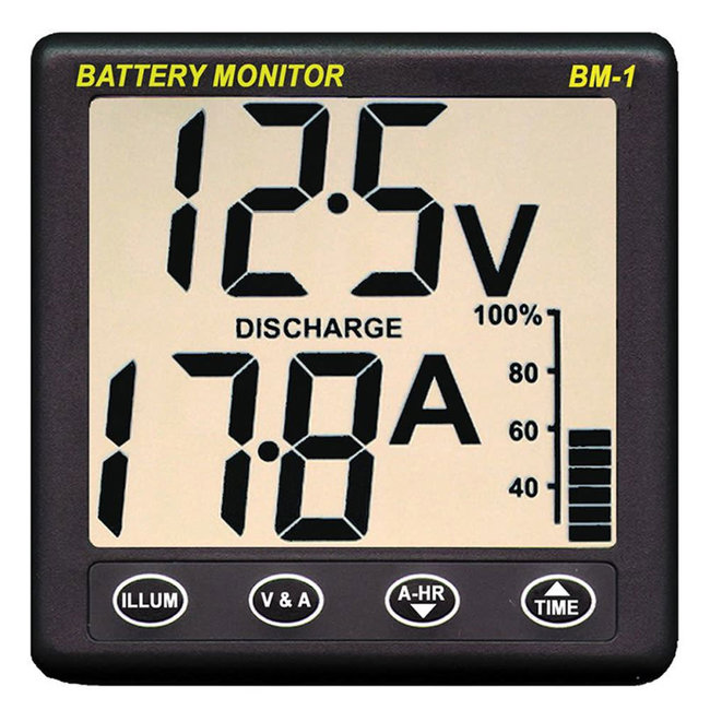 Nasa BM-1 12V Battery Monitor