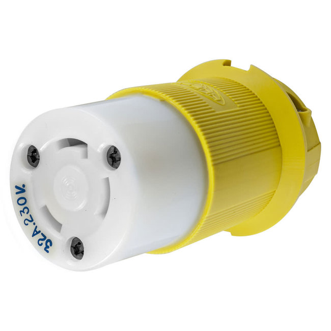 Hubbell Shore Power 32A Locking Connector 230V
