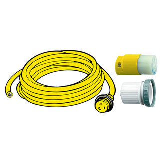 Hubbell Shore Power Hubbell Shore Power 16A Cord Set 20m 2.5mm 3 Core 240V