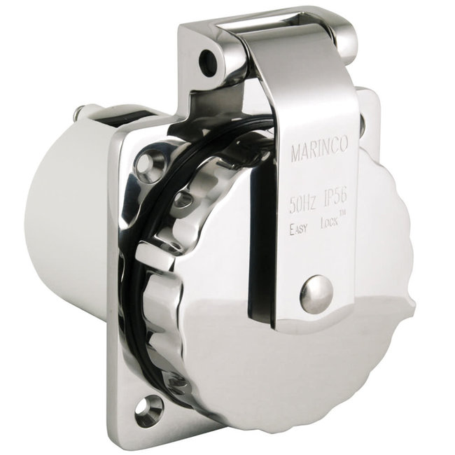 Marinco Marinco Stainless Steel 16/32A EasyLock Inlet