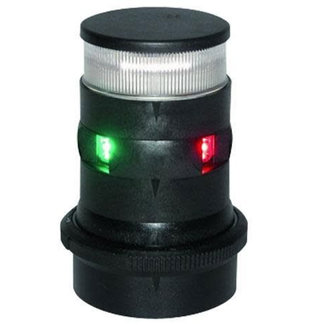 Aqua Signal S34 LED Tricolor / A/R white black