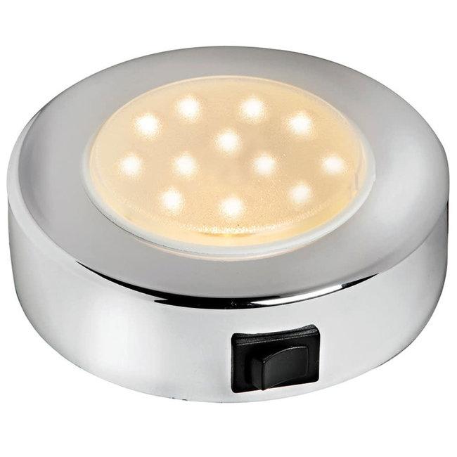 LED Sun Spotlight Interior Light Chrome