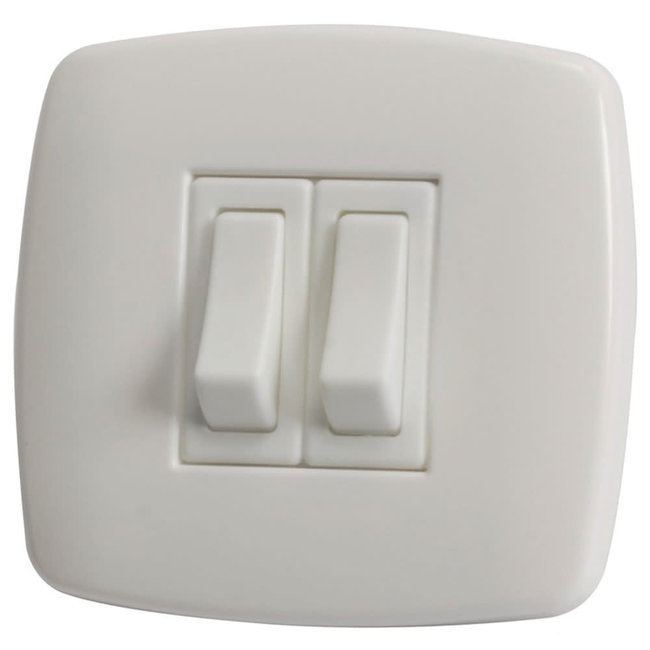 Low Voltage Double Light Switch