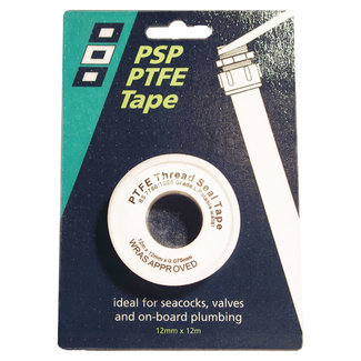 PSP PSP PTFE Pipe Seal Tape 12mm x 12m
