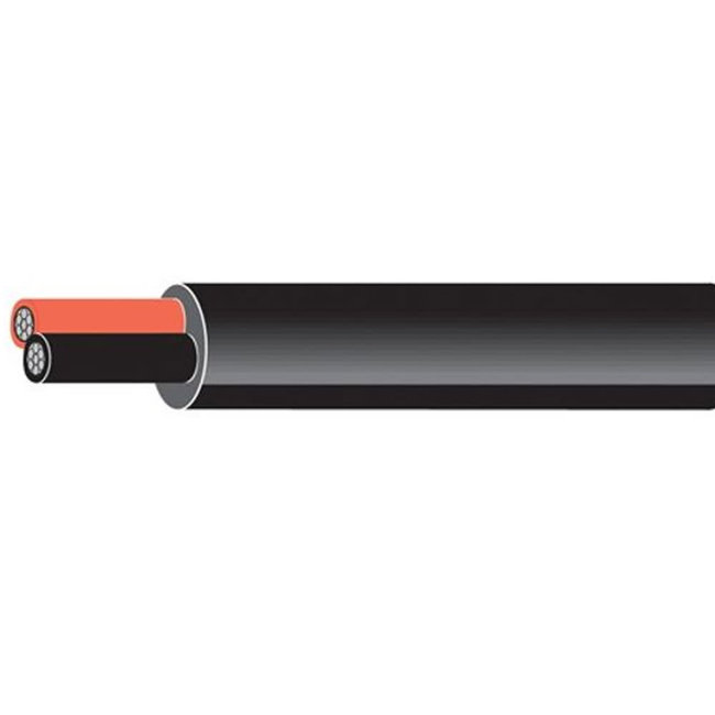 2 Core 1.5mm Tinned Round Cable 21A