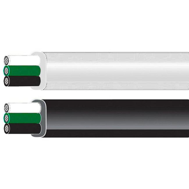 Aquafax 3 Core 1.5mm Tinned Flat Marine Cable 25A
