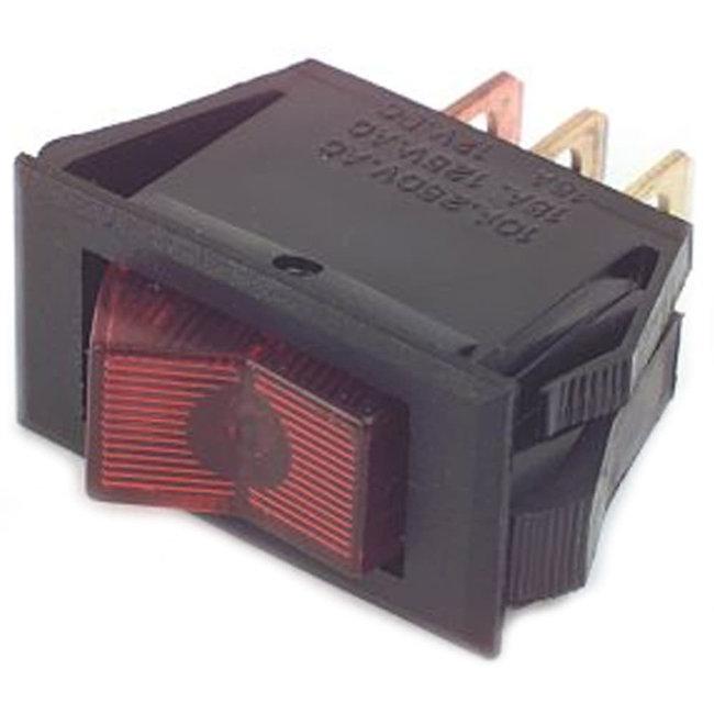 Illuminated 12V Rocker Switch