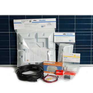 Solara Solara 12V Solar Panel Charge Kit