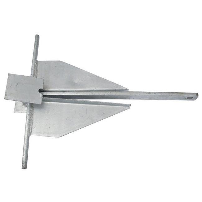 Danforth Type Galvanised Anchor