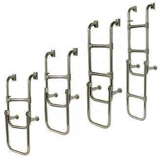 Waveline Waveline Aluminium Anti Slip Folding Boarding Ladder