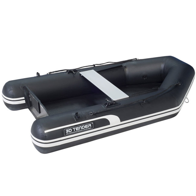 3D Tender 3D Tender 2.0m Superlight Twin Air Inflatable Dinghy Black 200