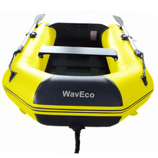 WavEco WavEco 2.5m Slatted Floor Ultra Solid Transom Inflatable Dinghy Yellow