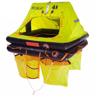 Seago Seago 4 Man ISO 9650-2 Sea Cruiser Life Raft