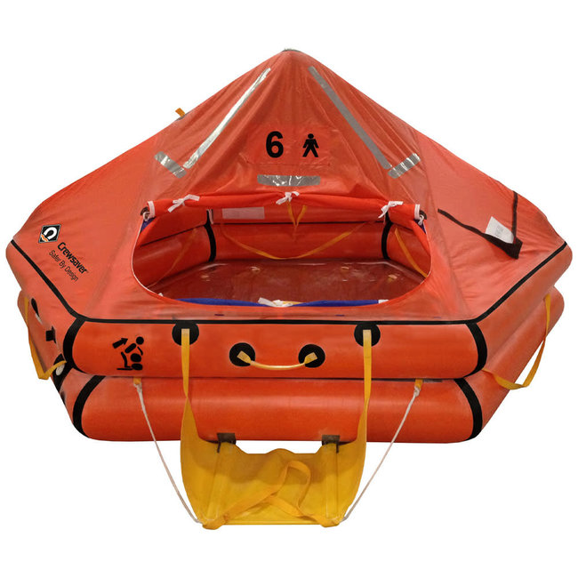 Crewsaver Crewsaver 6 Man Over 24hr ISO 9650-1 Ocean Life Raft