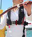 Crewsaver Crewfit 180N Pro Manual Life Jacket With Light Black/Red