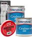 International Cruiser 200 White Antifoul 2.5L (x2) + FREE Roller Pack & Masking Tape