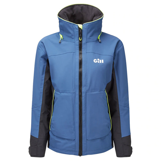 Gill OS3 2021 Coastal Womens Jacket Ocean Blue