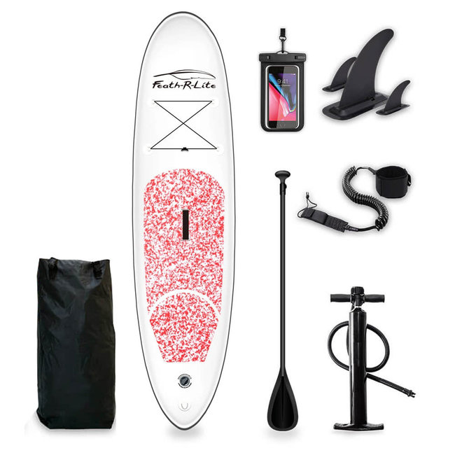 Funwater Ultra Lightweight Paddle Board Pink