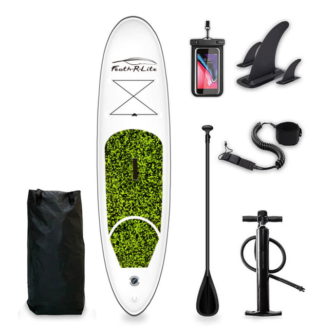 Funwater Ultra Lightweight Paddle Board Green