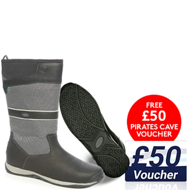 Dubarry Newport GORE-TEX Sailing Boots Navy/Carbon + FREE £50 Voucher